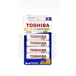 ถ่านชาร์จ Toshiba Size AA