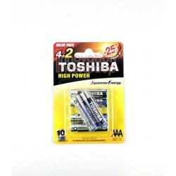 TOSHIBA ALKALINE SIZE AAA